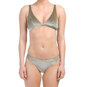 Velvet Bikini set